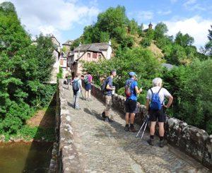 Rando en plein coeur du Cantal avec la Chataigneraie pendant les vacances
