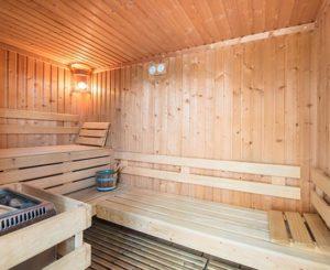 sauna espace bien-être au domaine de la chataigneraie cantal